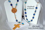 Handcrafted Saint Marianne Rosary